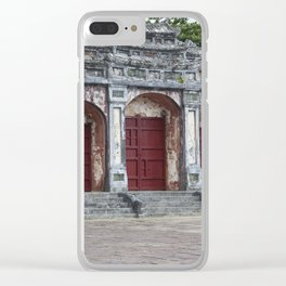 Gates to Royal Tomb Clear iPhone Case