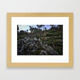 Japanese Friendship Gardens, Balboa Park, San Diego Framed Art Print