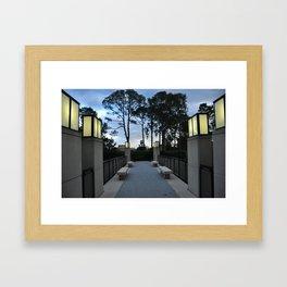 Sculpture Garden Framed Art Print