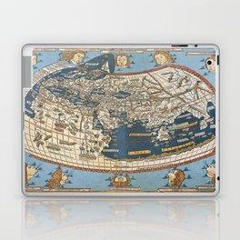 World map 1492 Laptop & iPad Skin