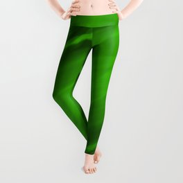Elliptical bright green curved lines with catchy ovals of vibrant rings. Leggings
