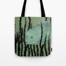 Under water Funky Fish Tote Bag