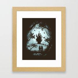 Dark Crystal Dreams Framed Art Print