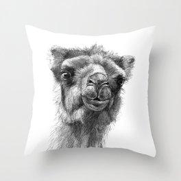 Bactrian Camel SK0103 Throw Pillow