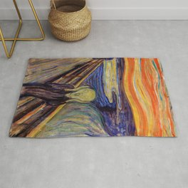 12,000pixel-500dpi - Edvard Munch - The Scream 1893 - Digital Remastered Edition2 Rug