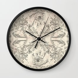 The Four Faces Wall Clock
