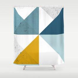 Modern Geometric 18 Shower Curtain