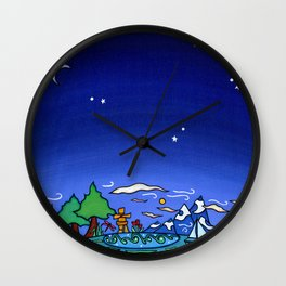 Life Divine Wall Clock