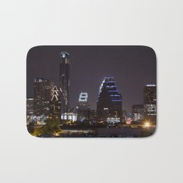 Nighttime Austin Bath Mat