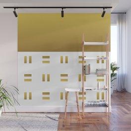 Modern geometric background gold #society6 #decor #buyart #artprint Wall Mural