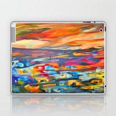 My Village | Colorful Small Mountainy Village Laptop & iPad Skin