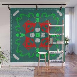 CA Fantasy Green New Year #2 Wall Mural
