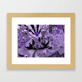 Contemporary Death Jazz Framed Art Print