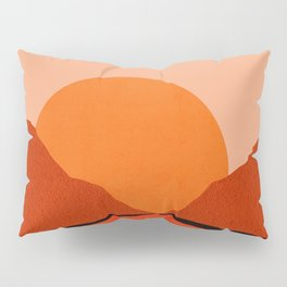 Abstraction_Sunset_Mountains_001 Pillow Sham