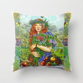 Celtic Summer Throw Pillow