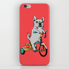 Frenchie Ride iPhone & iPod Skin