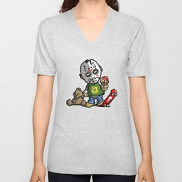 LITTLE JASON Unisex V-Neck