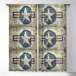 USAF Roundel Blackout Curtain