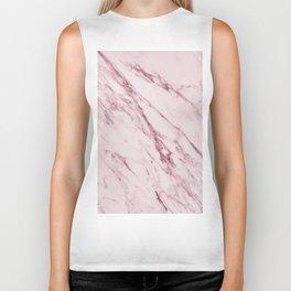 Cremona Rosa - pink marble Biker Tank