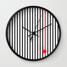 Don't Lose Control Wall Clock