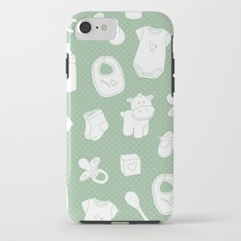 Baby green iPhone Case