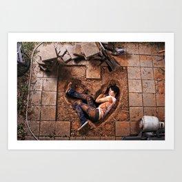 The Wrong Kind of Love Art Print
