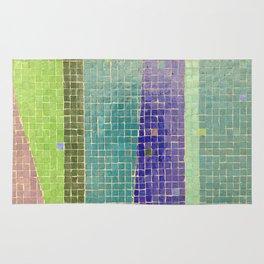 Downtown Fresno / Fulton Mall / Mosaic Bench 05 Rug