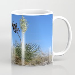 White Sands Dune With Soap Yucca Coffee Mug