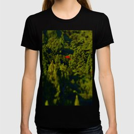 Lonely Pohutukawa Tree in Karekare Forest, New Zealand T-shirt