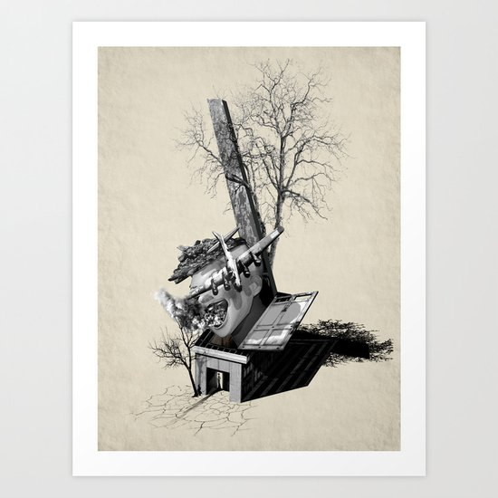 Immerse & Pondering Art Print
