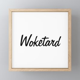 Woketard Framed Mini Art Print