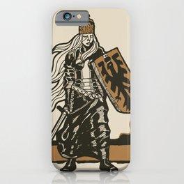 Germania The Warrior iPhone Case