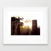 hook Framed Art Prints featuring Hook, Line & Sinker by Phil Provencio