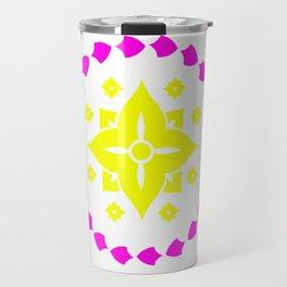 lighter flower Travel Mug