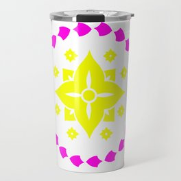 lighter flower Travel Mug