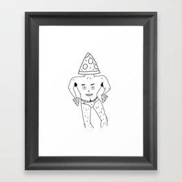 PIZZA PAPI (EYES OF THE CHEST 2) Framed Art Print
