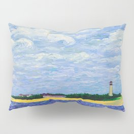 Cape May Lighthouse Pillow Sham