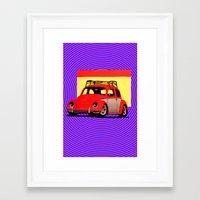 volkswagen Framed Art Prints featuring VolkSWAGen by Colby Gray