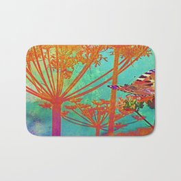 Butterfly by Angelica Bath Mat