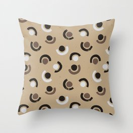 Silent nature // pattern - 2 Throw Pillow