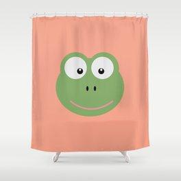Frog head T-Shirt for Women, Men and Kids D6av3 Shower Curtain