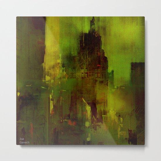 The green city Metal Print