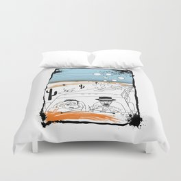 Fear and Loathing in Albuquerque II Duvet Cover