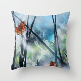 Westhay Butterfly 1 Throw Pillow