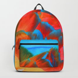 Peony on the Wildside Backpack