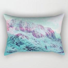 Pastel Magic Mountains Rectangular Pillow