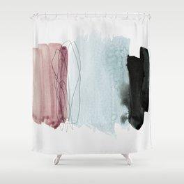 minimalism 4 Shower Curtain