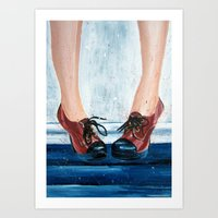 heels Art Prints featuring Heels by MardyArts
