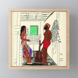 Guava Island Framed Mini Art Print