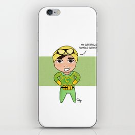 Cal Pal iPhone Skin
